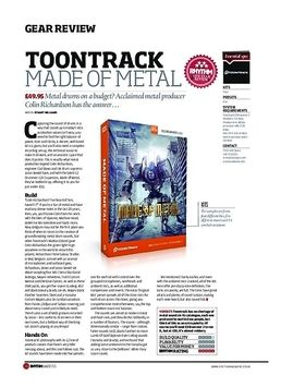 Toontrack Made Of Metal