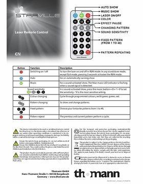 Manual: Remote control