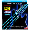DR Strings HiDef Blue Neon Medium4 45-105