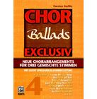 Alfred Music Publishing Chor Exclusiv 4 Ballads
