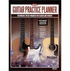 Alfred Music Publishing Guitar Practice Planner