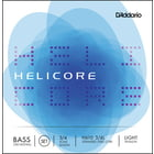 Daddario H610-3/4L Helicore Bass 3/4