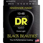 DR Strings Black Beauties BKA- 10