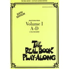 Hal Leonard Real Book CD Play-Along A-D