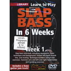 Music Sales Slap Bass In 6 Weeks - Week 1