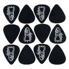 Jackson 351 Black Bomb Picks Med