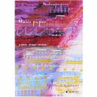 Schott Notenblock Music Paper A4