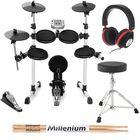 Millenium MPS-150 E-Drum Set Bundle