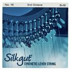 Bow Brand Silkgut 3rd B Harp Str. No.18