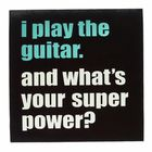 Bandshop Sticker I play the Guitar