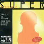 Thomastik Superflexible A Cello med Chr.