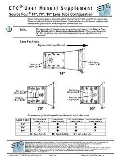 Lens Tube Configuration