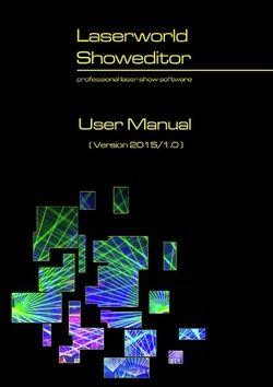 Manual: Showeditor