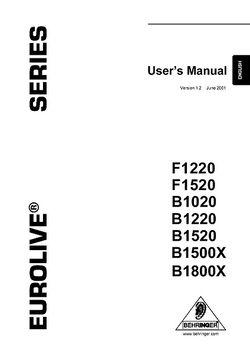 Manual in Englisch