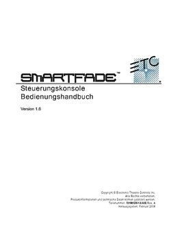 ETC Smartfade Anleitung