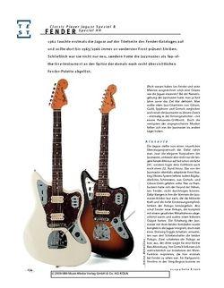 Gitarre & Bass Fender Classic Player Jaguar Special & Special HH, E-Gitarren