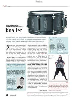 Soundcheck Test: Pearl Joey Jordison Signature Snare JJ-1365