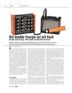 Keyboards Doepfer Dark Energy - Mini-Synth mit USB/MIDI-Interface