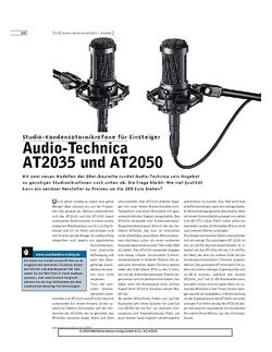 Sound & Recording Audio-Technica AT2035 und AT2050