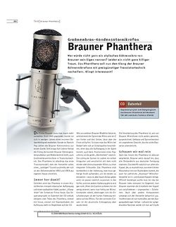 Sound & Recording Brauner Phanthera