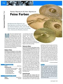 DrumHeads Test - Paiste Signature & New Signature Cymbals