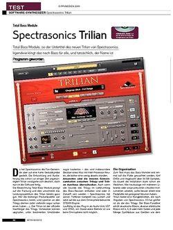 KEYS Spectrasonics Trilian