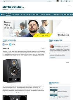 Amazona.de Test: ADAM A7X