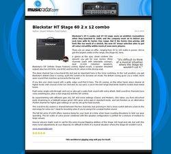 MusicRadar.com Blackstar HT Stage 60 2 x 12 combo