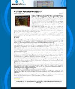 MusicRadar.com Garritan Personal Orchestra 4