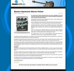 MusicRadar.com Electro-Harmonix Stereo Pulsar