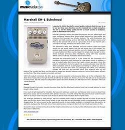 MusicRadar.com Marshall EH-1 Echohead