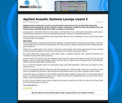MusicRadar.com Applied Acoustic Systems Lounge Lizard 3