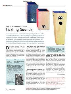 Soundcheck Test - Meinl Snare- und Conga-Cajones