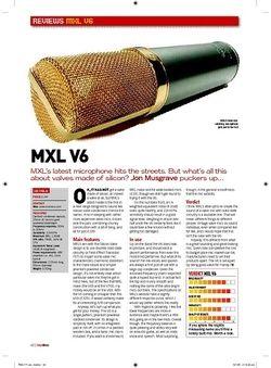 Future Music MXL V6