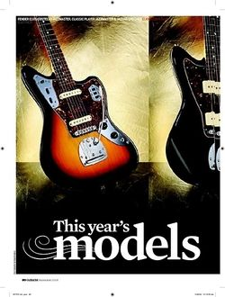 Guitarist Fender Classic Player Jazzmaster Special