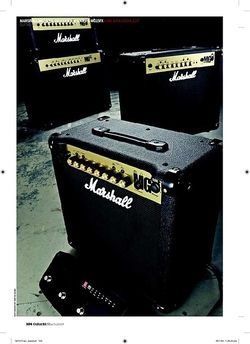 Guitarist Marshall MG100HFX