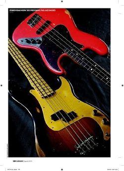 Guitarist Fender Road Worn 50s Precision Bass