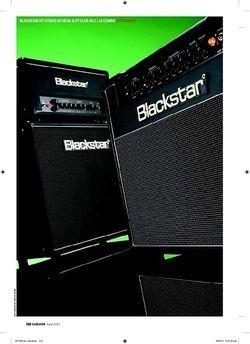 Guitarist Blackstar HT Studio 20 head