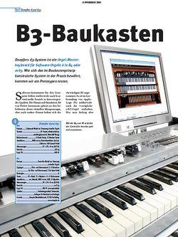 Tastenwelt Test: B3-Baukasten - Doepfer d3-System