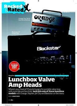 Total Guitar Blackstar HT Studio 20H