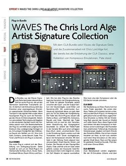 KEYS WAVES The Chris Lord Alge Artist Signature Collection