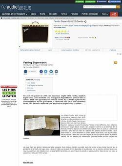 Audiofanzine.com Fender Super-Sonic 22 Combo