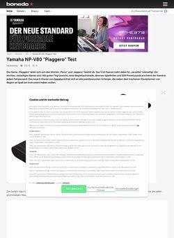 Bonedo.de Yamaha NP-V80