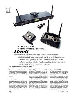 Gitarre & Bass Line6 Relay G50 & G90, Digital Wireless Systems