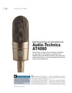 Sound & Recording Audio-Technica AT4080