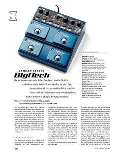 Gitarre & Bass DigiTech JamMan Stereo, Looper