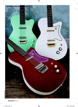 Guitarist Danelectro 56 Single Cutaway Bass