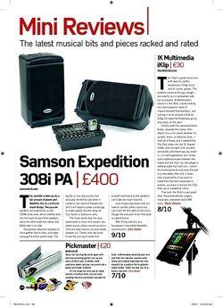 Future Music Samson Expedition 308i PA
