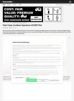 Bonedo.de Pearl Joey Jordison Signature JJ1365