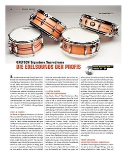 Sticks Gretsch Signature Snaredrums